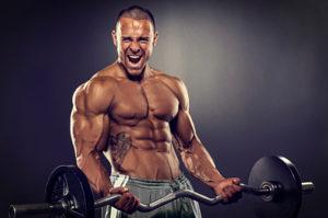 筋力トレーニングとヒゲの濃さの関係