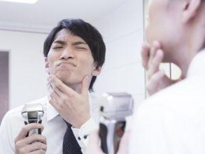 電気カミソリの深剃り