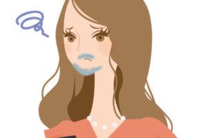 女性の青髭